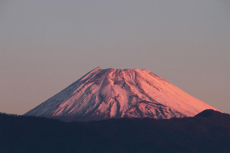 13日 6ー16 今朝の富士山-3