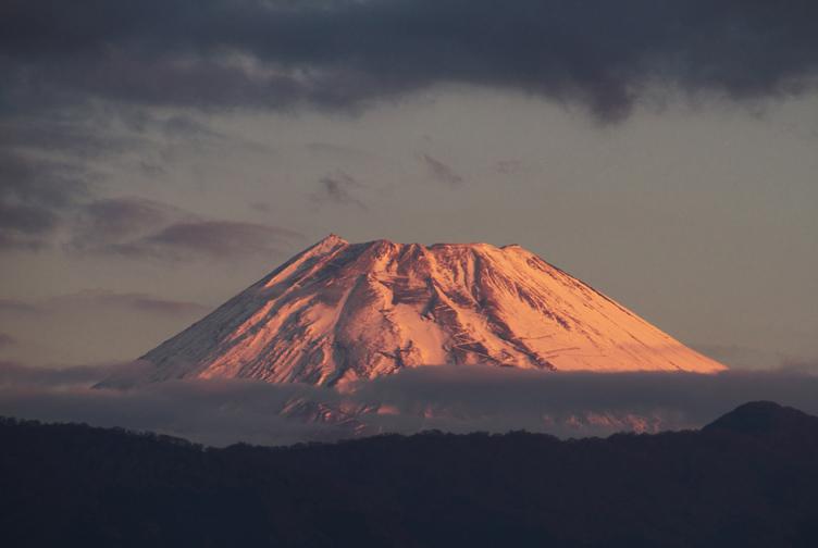 14日 6ー21 今朝の富士山-3