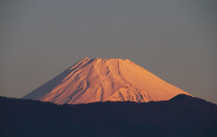 16日 6ー24 今朝の富士山