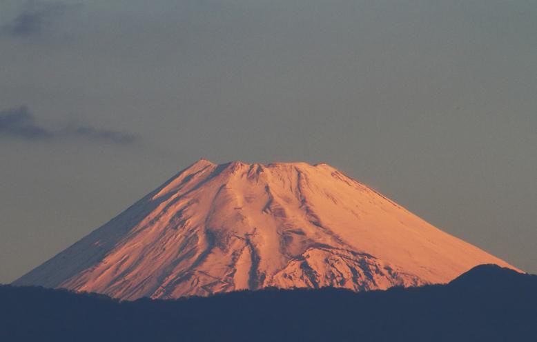 17日 6ー34 今朝の富士山1-2