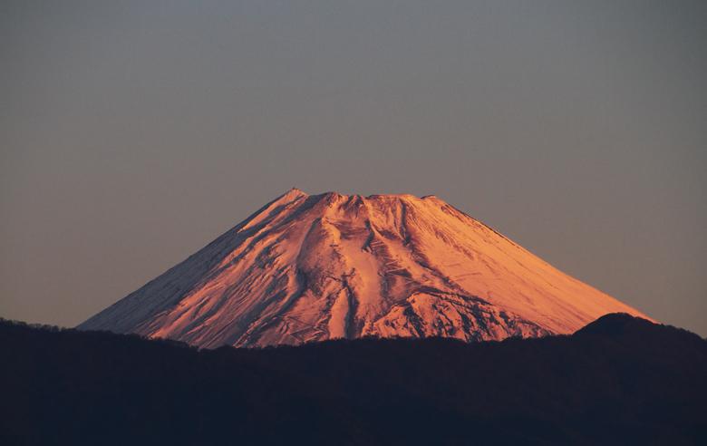 20日 6ー26 今朝の富士山