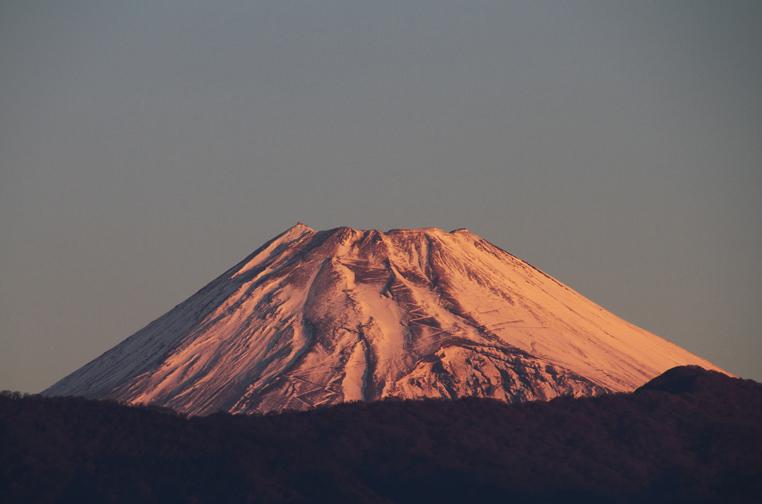 21日 6ー29 今朝の富士山