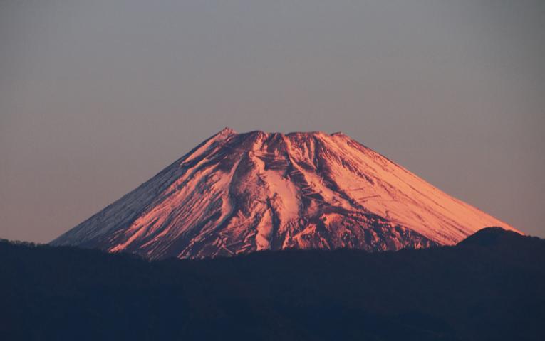 24日 6ー29 今朝の富士山-1
