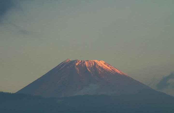 7日 7-06 今朝の富士山