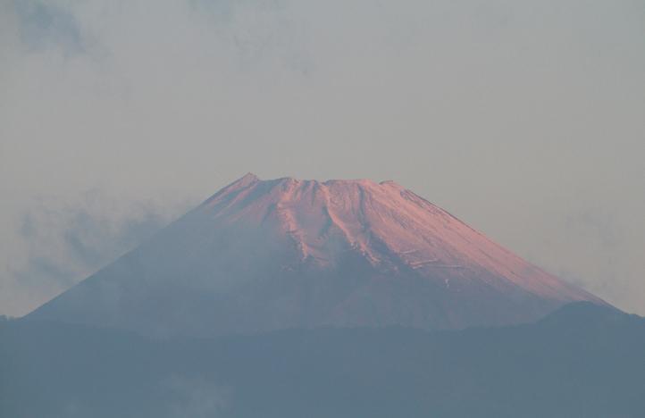 10日 6-20 今朝の富士山-2