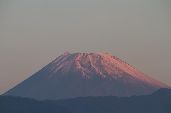 13日 6-22今朝の富士山