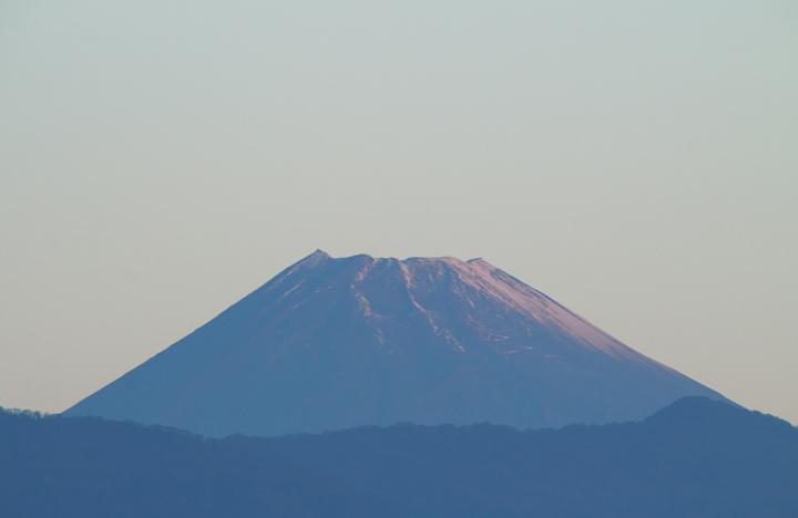 18日 6-35 今朝の富士山-2