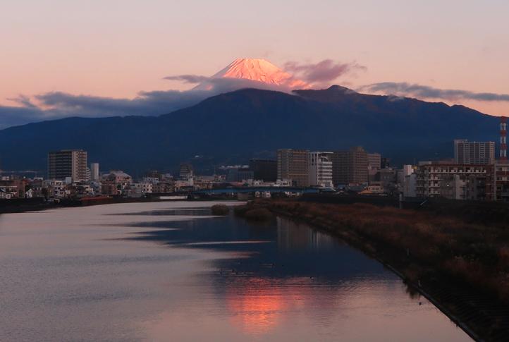 11月27 6-35 今朝の富士山-5