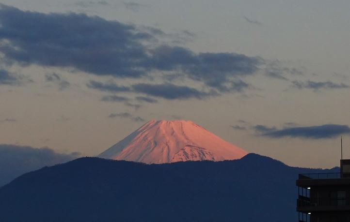 11月28 6-30 今朝の富士山-7