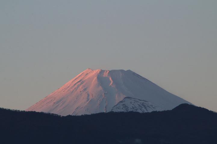 11月29 16-37 今日の富士山-2