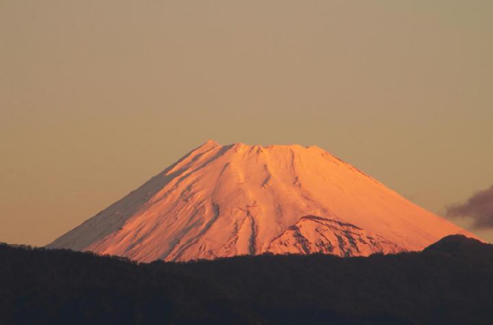 12月2 6-36 今朝の富士山-1