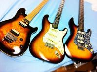 sunburst guitars