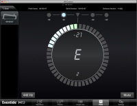 H9 Control OSX app Pedal Tuner page