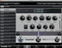 H9 Control OSX app Presets page