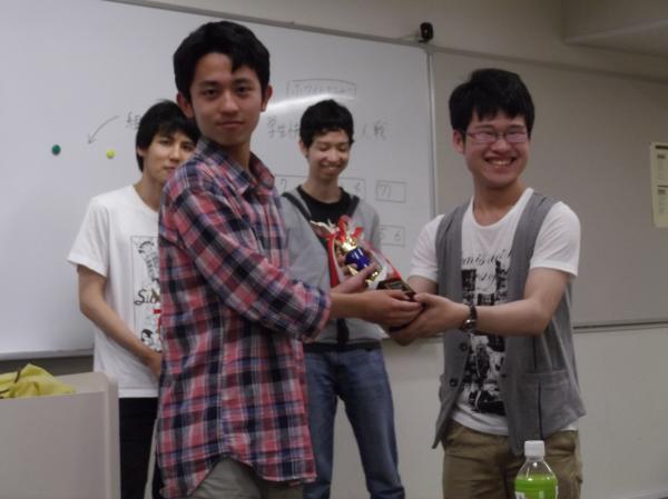 2013/6/22学生快速表彰式