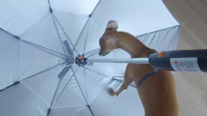 ファン付き日傘1