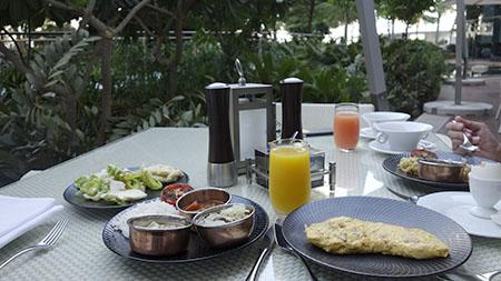アドレスホテル朝食1