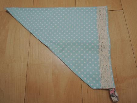 フリルエプロン_三角巾