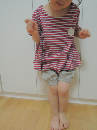 AラインTシャツ_着画3