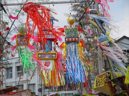 茂原七夕祭り・飾り5・2013.7.27