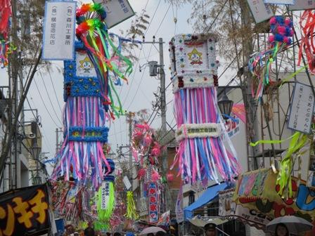 茂原七夕祭り・飾り7・2013.7.27