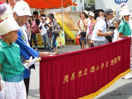 茂原七夕祭り・西小・鼓笛隊1・2013.7.27