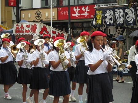 茂原七夕祭り・西小・鼓笛隊2・2013.7.27