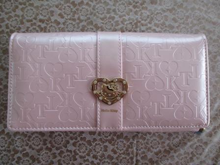 キティお財布・ピンク・1