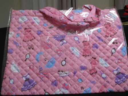 入会記念バック・ピンク・ドレス柄