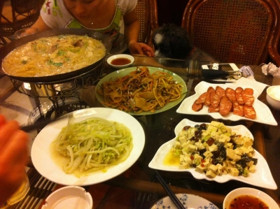 昭化路の東北料理
