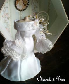 ウェディングメモリーボックスドレス