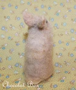 羊毛ノエルくん完成ushiro