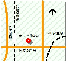 半田レンガ建物マップ