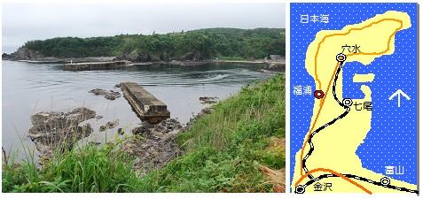 福浦灯台マップ