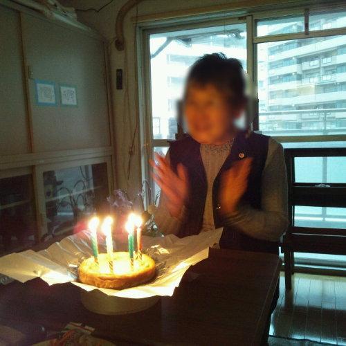 喜寿のお祝いをケーキで♪
