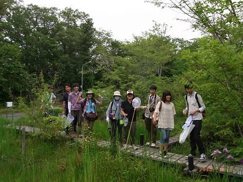 小幡緑地:トンボ池にて-s