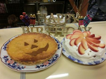 ケーキ2種類も!!