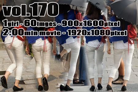 ■vol170-ムチピタ食い込みホワイトパンツ
