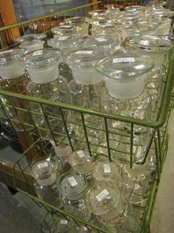 古道具 薬品瓶 ガラス瓶