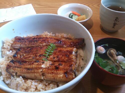 特上うな丼サンド(二重)