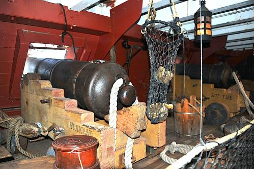 HMS Surprise Gun Deck