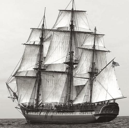 HMS Surprise FUll Sail