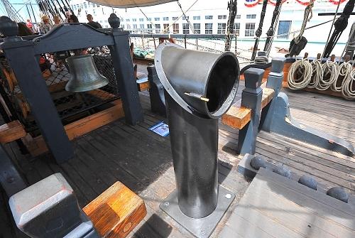 HMS Surprise Stuck