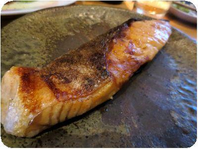 厚切り焼鮭