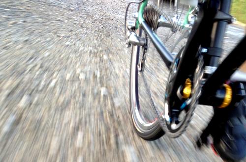 グラベル走行 自転車