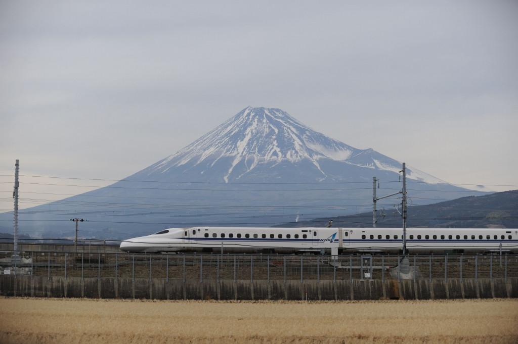東海道新幹線 N700A  新富士