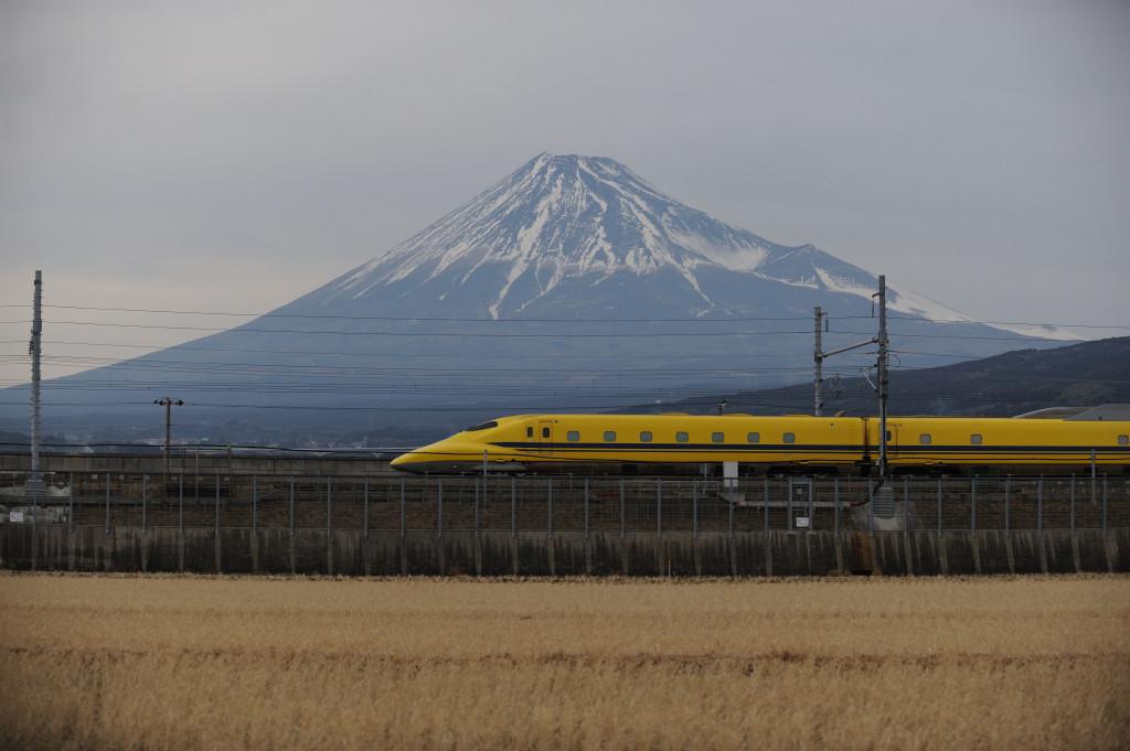 東海道新幹線 ドクターイエローT5編成  新富士