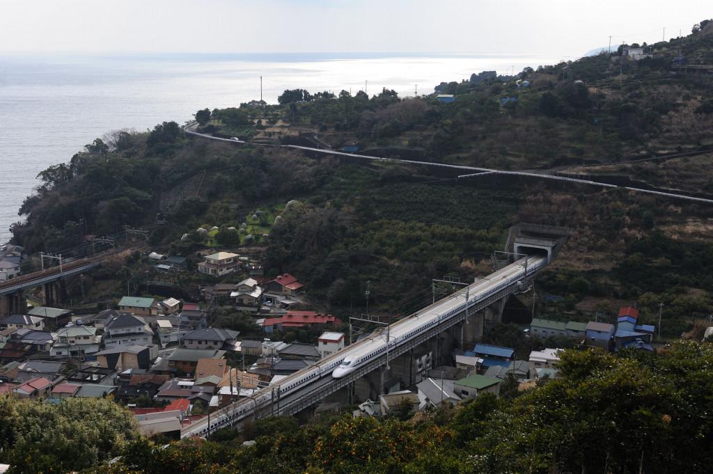 東海道新幹線 700系  石橋山