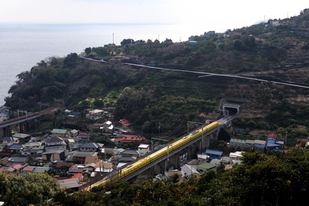 東海道新幹線 ドクターイエローT5編成  石橋山
