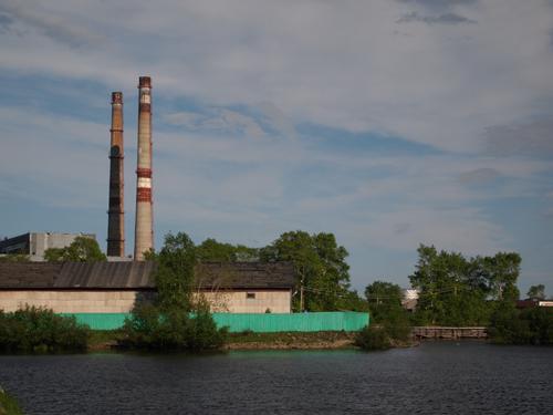 尼港発電所